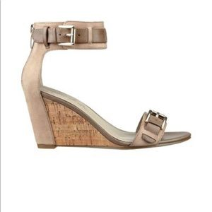 Marc Fisher Camron Wedge Zip in Sandal